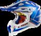 LS2 Hjälm MX470 POWER chrome blå M