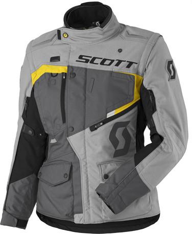 Jacket W's Dualraid DP grey/yellow