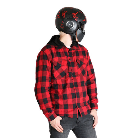 Sweep Skjorta kevlar Manitou Röd/Svart