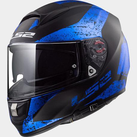 LS2 Hjälm FF397 SIGN matt svart blå S