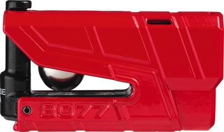 ABUS Skivbromslås 8077 Granit Detecto X-Plus 100db larmlås red
